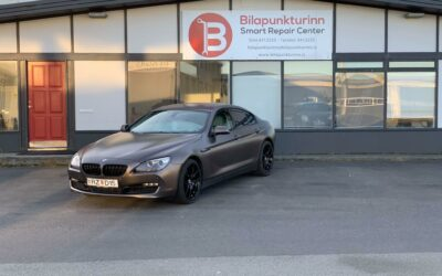 Glæsilegur BMW 6 lína
